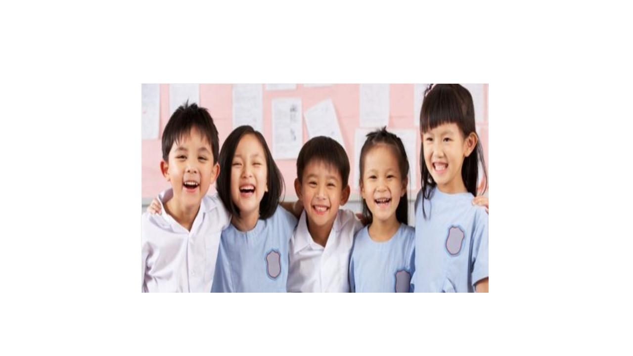 Children laughing photo